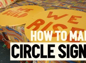 Aleksei Wagner / 350.org PCM: How to Make Circle Signs